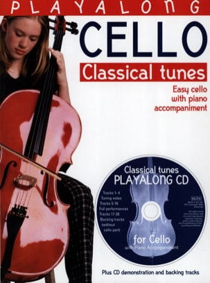 David Gedge - Playalong : Classical Tunes / Cello - Partition - di-arezzo.fr