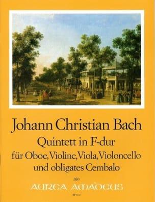 Quintette en Fa Majeur Johann Christian Bach Partition laflutedepan