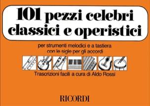Aldo Rossi - 101 Pezzi celebri classici e operistici - Sheet Music - di-arezzo.com