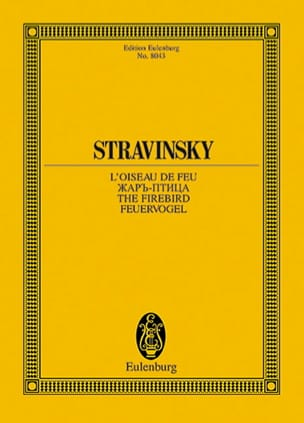 Igor Stravinsky - The Firebird 1909-10, Ballet - Sheet Music - di-arezzo.com