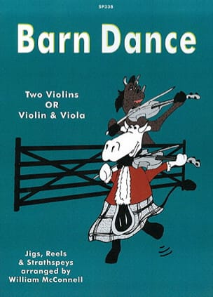 Barn Dance Connell William Mc Partition 0 - laflutedepan