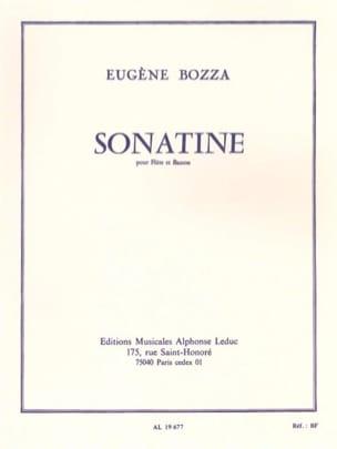Eugène Bozza - Sonatine - Flûte et basson - Partition - di-arezzo.fr