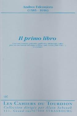 Andrea Falconiero - He first libro - Sheet Music - di-arezzo.com