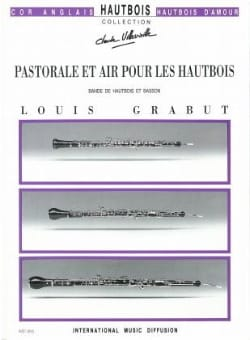 Louis Grabut - Pastoral and Air For Oboes - Sheet Music - di-arezzo.co.uk