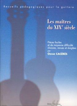 Oscar Cacérès - Los maestros del siglo XIX - Partitura - di-arezzo.es