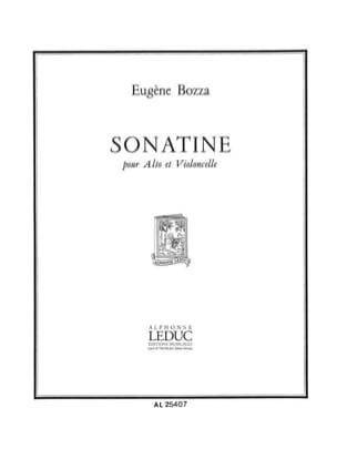 Eugène Bozza - Sonatine - Partition - di-arezzo.fr