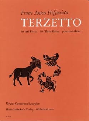 Terzetto - Franz Anton Hoffmeister - Partition - laflutedepan.com