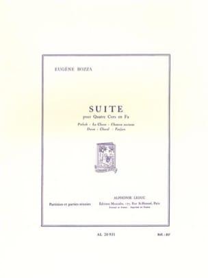Eugène Bozza - Suite pour 4 Cors – Conducteur - Partition - di-arezzo.fr
