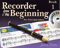 Recorder from the Beginning - Book 1 - John Pitts - laflutedepan.com