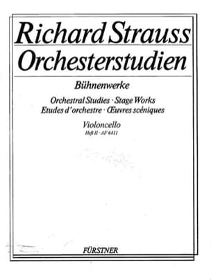 Richard Strauss - Orchesterstudien - Heft 2 Cello - Sheet Music - di-arezzo.com