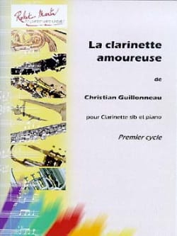 La Clarinette Amoureuse Christian Guillonneau Partition laflutedepan