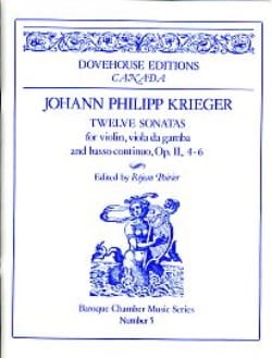 Johann Philipp Krieger - 12 Sonatas op. 2 n ° 4-6 - Sheet Music - di-arezzo.co.uk