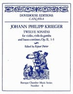 Johann-Philipp Krieger - 12 Sonatas op. 2 n ° 1-3 - Sheet Music - di-arezzo.co.uk
