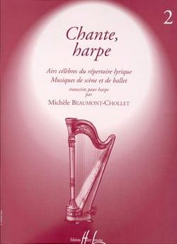 Michèle Beaumont-Chollet - Chante, Harpe - Volume 2 - Partition - di-arezzo.fr