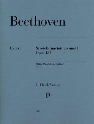 Ludwig van Beethoven - Quatuor à cordes en ut dièse mineur op. 131 - Partition - di-arezzo.fr