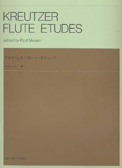 Kreutzer - Etudes Pour Flûte - Partition - di-arezzo.fr