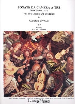 VIVALDI - Sonata da camera to be op. 1 - Book 2 No. 7-12 - Sheet Music - di-arezzo.com