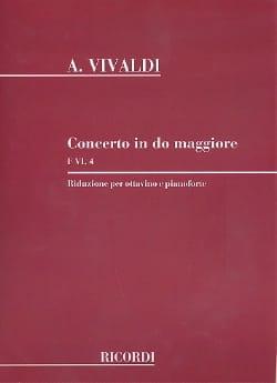 Concerto en Do Maj. - F. 6 n° 4 -Ottavino piano - laflutedepan.com