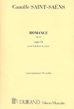 Camille Saint-Saëns - Romance Op. 51 in D - Sheet Music - di-arezzo.co.uk