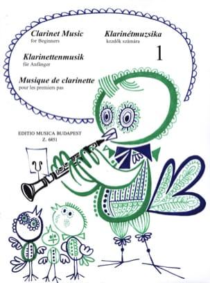 Musique pour les 1ers pas - Volume 1 - Clarinette laflutedepan