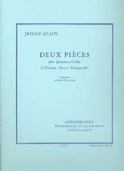 Jehan Alain - Deux Pièces - Partition - di-arezzo.fr