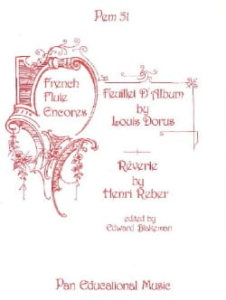 French Flute Encores - Flute and Piano - Sheet Music - di-arezzo.com