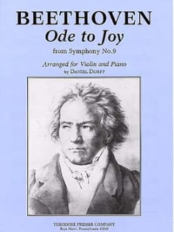 Ludwig van Beethoven - Ode To Joy – Violin - Partition - di-arezzo.fr