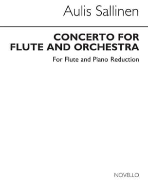 Aulis Sallinen - Concerto for flute op.70 – Flute piano - Partition - di-arezzo.fr