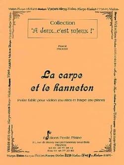 Pascal Proust - La Carpe et le Hanneton - Partition - di-arezzo.fr