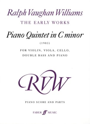 Williams Ralph Vaughan - Piano Quintet in c minor (1903) – Piano score + parts - Partition - di-arezzo.fr