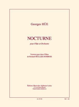 Georges Hüe - Nocturne – 2 Flûtes - Partition - di-arezzo.fr