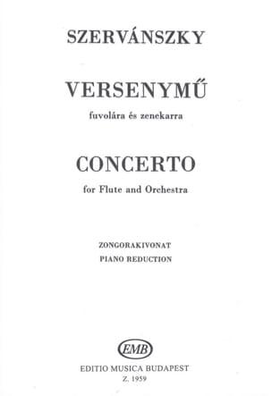 Concerto – Flûte piano - Endre Szervanszky - laflutedepan.com