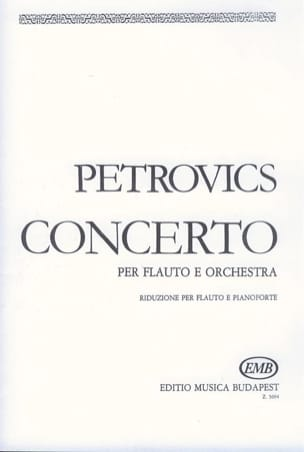 Concerto - Flauto pianoforte Emil Petrovics Partition laflutedepan
