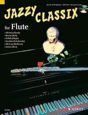 Juchem Dirko / Brochhausen Achim - Jazzy Classix for Flute - Partition - di-arezzo.fr
