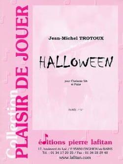 Halloween Jean-Michel Trotoux Partition Clarinette - laflutedepan