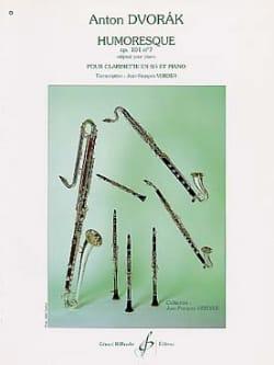 Antonin Dvorak - Humoresque op.101 n°7 - Clarinette - Partition - di-arezzo.ch