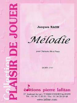 Jacques Raon - Mélodie - Partition - di-arezzo.fr