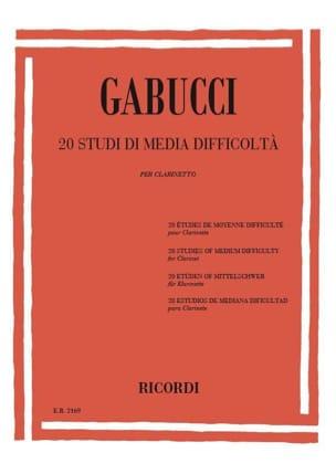 20 Studi di media difficolta - Agostino Gabucci - laflutedepan.com