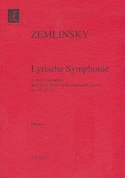 Alexander Von Zemlinsky - Lyrische Symphonie op. 18– Partitur - Partition - di-arezzo.fr