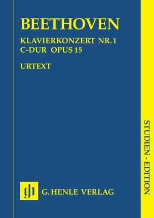 Ludwig van Beethoven - Klavierkonzert Nr. 1 –Partitur - Partition - di-arezzo.fr