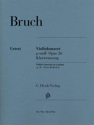 Max Bruch - Minor Violin Concerto No. 1 Op. 26 - Sheet Music - di-arezzo.co.uk