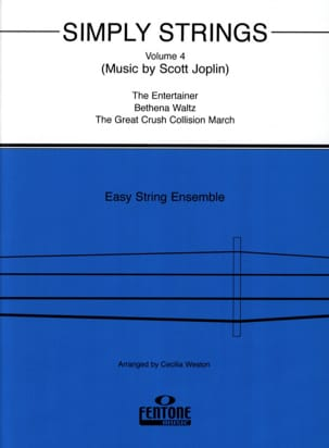 Cecilia Weston - Simply Strings, vol 4 - String ensemble - Sheet Music - di-arezzo.co.uk