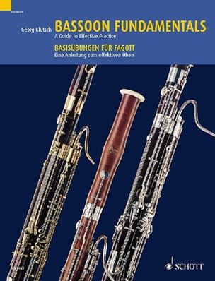 Bassoon Fundamentals - Basson Georg Klütsch Partition laflutedepan