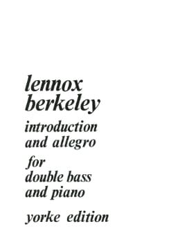 Introduction and Allegro for Double bass and piano - laflutedepan.com