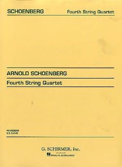 String Quartet n° 4 op. 37 - Score SCHOENBERG Partition laflutedepan