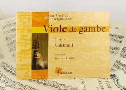 Jérome Hantaï - Viole de gambe - 2ème Cycle - Volume 1 - Partition - di-arezzo.fr