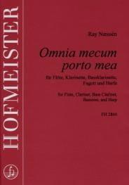 Omnia mecum porto mea - Ray Naessen - Partition - laflutedepan.com