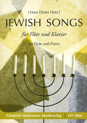 Jewish Songs - Hans Dieter Hotz - Partition - laflutedepan.com