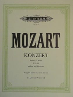 MOZART - Concerto in D Major Kv 218 - Sheet Music - di-arezzo.com