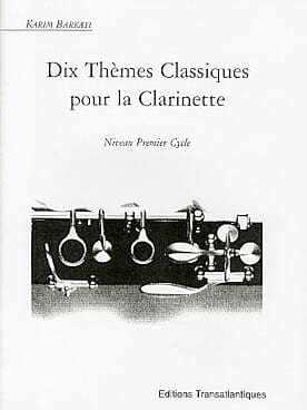 - 10 Classical Themes for Clarinet - Sheet Music - di-arezzo.co.uk